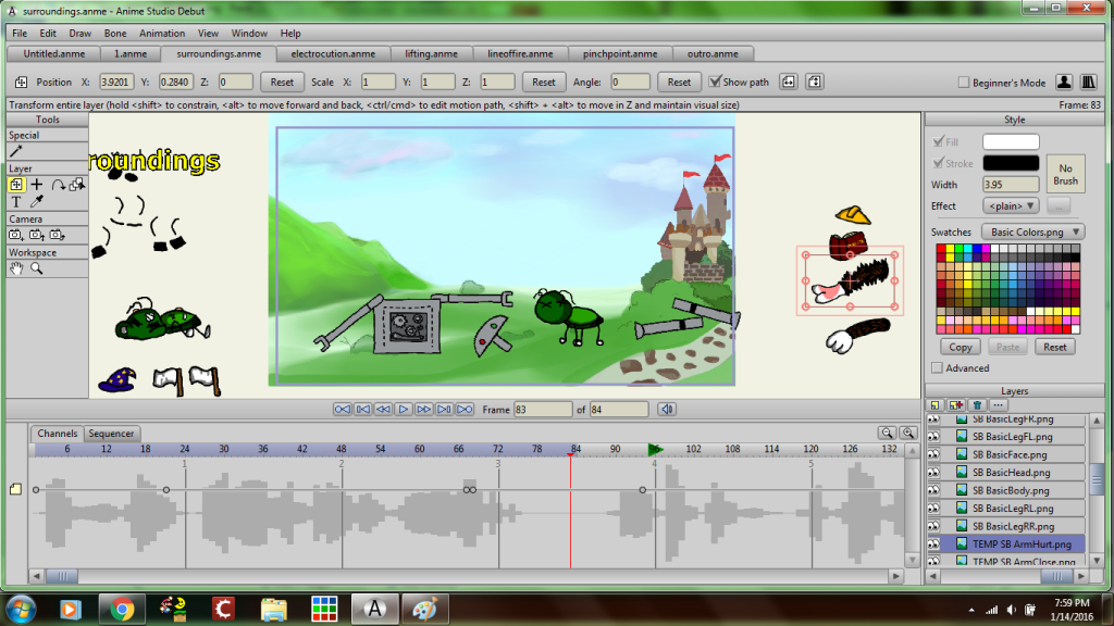 animation bts 3