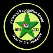 Personal Recognition Award Button