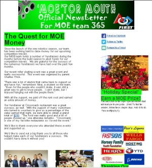 Holiday Special 2013 Newsletter