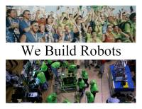 We Build Robots - Picture Storybook