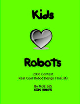 Kids Luv Robots 2008 Coloring book